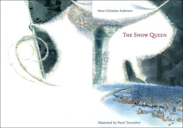 Ковер снежная королева